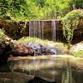 Owens Creek Falls by Susan Rissi Tregoning