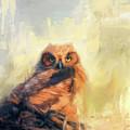 Owlet By The Beach by Jai Johnson