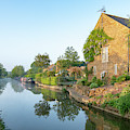Oxford Canal Near Kings Sutton by Tim Gainey