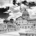 Pa Capital From The Rear by Paul W Faust - Impressions of Light