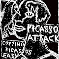 Pablo Picasso Attack 9 by Artist Dot