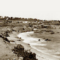 Pacific Grove Waterfront Looking West From Lovers Point by California Views Archives Mr Pat Hathaway Archives