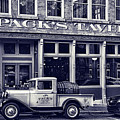 Packs Tavern Black And White by Sharon Popek