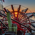 Paddle Wheel Sunrise by John Zawacki