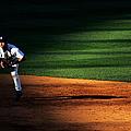 Padres Vs Yankees by Al Bello