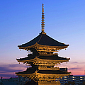 Pagoda At Sunset, To-ji Temple, Kyoto by Danita Delimont