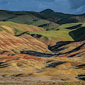 Painted Hills Shadows by Matthew Irvin