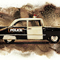 Painted Patrol by Jorgo Photography - Wall Art Gallery