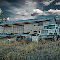 Painted Skies Garage by Bill Posner