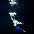 Pair Of Ballet Dancer Underwater by Henrik Sorensen