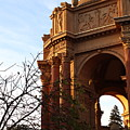 Palace Of Fine Arts At Sunset by Mini Arora