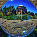 Palace Of Fine Arts Sphere by Garry Gay
