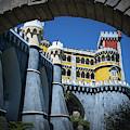 Palacio Da Pena Sintra Portugal Vii by Juan Contreras