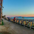 Palisades Park - Looking South by Gene Parks