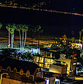Palisades Park Night - Panorama by Gene Parks