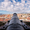 Panorama From St George Castle - Lisbon, Portugal by Nico Trinkhaus