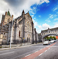 panorama of The Cathedral of Dublin by Ariadna De Raadt