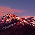 Panorama Sunset Castle Rock Sequoia National Park Cali by Dave Welling
