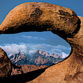 Panoramic Arch Morning Eastern Sierras Alabama Hills California by Dave Welling