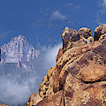 Panoramic Clearing Storm Mount Whitney Alabama Hills California by Dave Welling