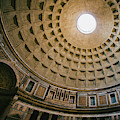 Pantheon Dome Interior by Dave Bowman