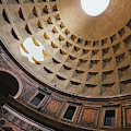 Pantheon Dome Sunbean by Dave Bowman