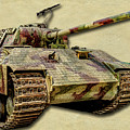 Panzer V Panther Canvas by Weston Westmoreland