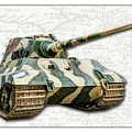 Panzer Vi Tiger II by Weston Westmoreland