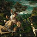 Parable Of The Good Samaritan  by Francesco Bassano II