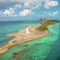 Paradise Island Lighthouse by Kristia Adams
