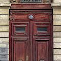 Paris Door by Dave Mills