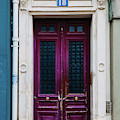 Paris Pink Door by Georgia Fowler