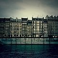 Parisian Architecture by Louise Legresley