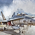 Parked Hornet by Brad Allen Fine Art