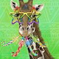 Party Safari Giraffe by Shari Warren