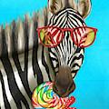 Party Safari Zebra by Shari Warren