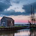 Passing Storm Salem Massachusetts by Jeff Folger