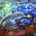 Past Memories New Beginnings Dolphin Reef by CBjork