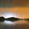 Pastel Water Abstract  by Robert FERD Frank