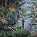 Path Thru The Woods by Ken Farnsworth