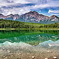 Patricia Lake, Jasper National Park by Witold Skrypczak