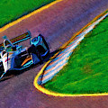 Patricio O'ward Indy Car Harding Group Chevrolet by Blake Richards