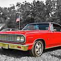 Patriotic 64 Chevy Chevelle by Kristia Adams