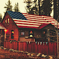 Patriotic Bar And Grill by Mountain Dreams