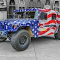 Patriotic Hummer by Tony Baca