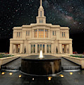 Payson Temple And The Milkyway by David Andersen