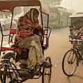 Pedicabs 02 by Werner Padarin