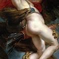 Pedro Pablo Rubens / 'the Rape Of Ganymede', 1636-1637, Flemish School, Oil On Canvas. by Peter Paul Rubens -1577-1640-