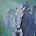 Pegasus Fantasy by Barbara Morrison