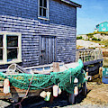 Peggys Cove - Hunger And Thirst by Peggy Collins